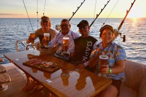 Liveaboard fishing charters Brilliant Company Airlie Beach Whitsundays