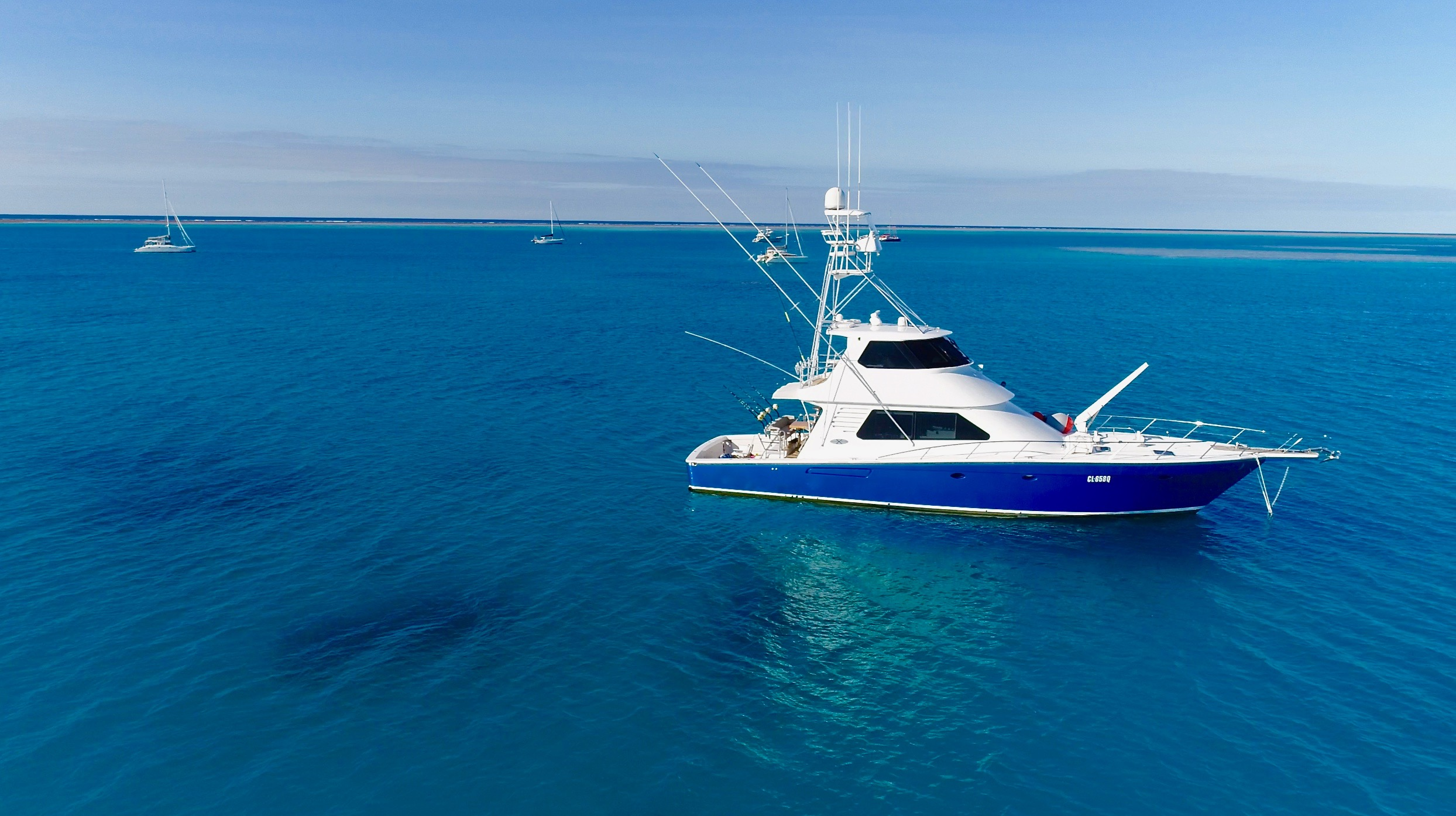 Brilliant Company Topnotch Game Fishing luxury charters airlie Beach whitsundays charter options