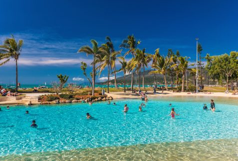 Destinations Airlie Beach lagoon Whitsunday