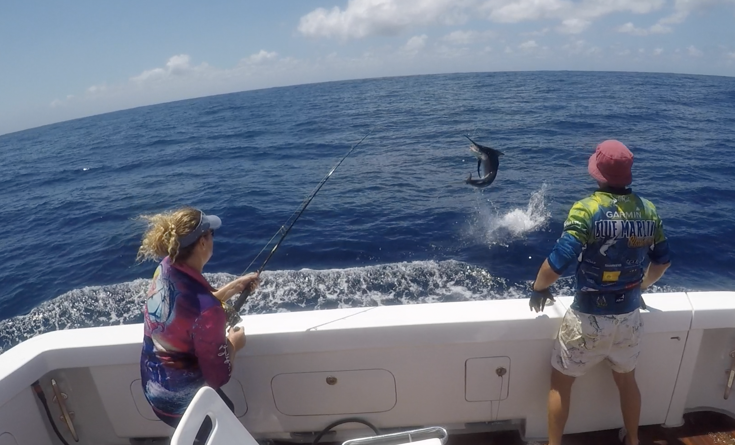 Billfish Babes Charters Brilliant Company Topnotch Game Fishing Airlie Beach live aboard fishing charters