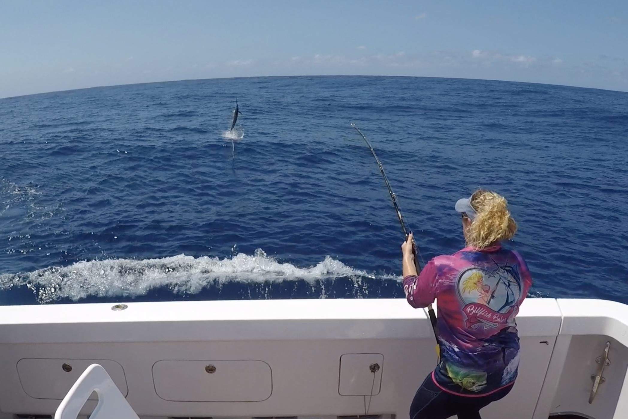 Billfish Babes Charters Marlene Hicks Topnotch Game Fishing Airlie Beach live aboard fishing charters